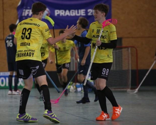 Dorostenci se na turnaji v Ostravě probojovali až do čtvrtfinále