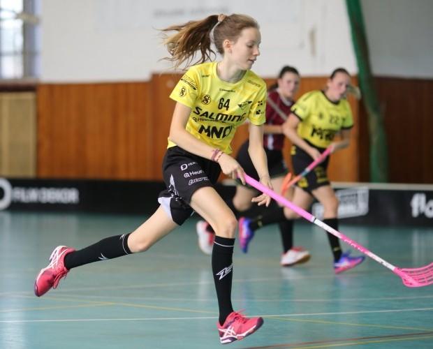 Shrnutí víkendu: Juniorky v Rieger aréně vybojovaly bod