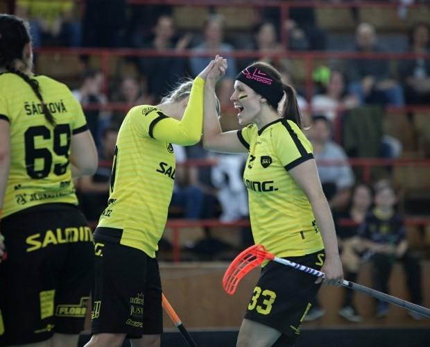 Finále 1. ligy žen vypukne v sobotu večer. Do Rieger arény dorazí Bulldogs Brno